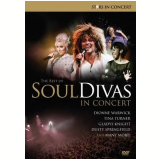 The Best of Soul Divas In Concert (DVD) - Vários