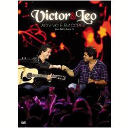 DVD - Victor e Leo - Ao Vivo e em Cores em São Paulo - Victor e Leo - 886975543298