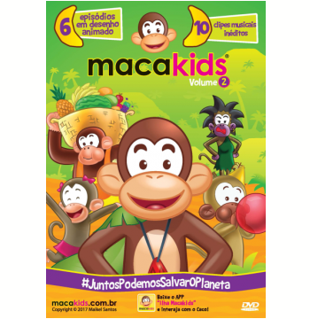 Macakids - Juntos Podemos Salvar o Planeta (Vol. 2) (DVD)