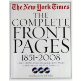 The New York Times, The Complete Front Pages 1851-2008 - V�rios (veja lista completa)