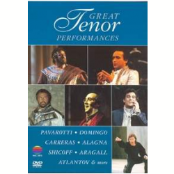 DVD - Great Tenor Performances - Vários - 706301862629