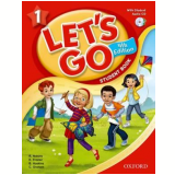 Let'S Go 1 Student Book With Cd Pack - Fourth Edition - Karen Frazier, Barbara Hoskins, Ritsuko Nakata
