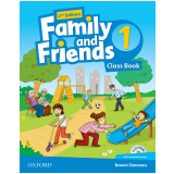 Family And Friends 1 Class Book With Multirom Pack - Second Edition -