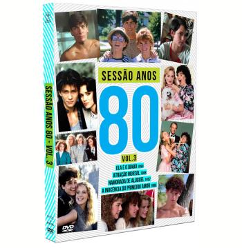Sessao Anos 80 - Digipak - Vol. 3 (DVD)