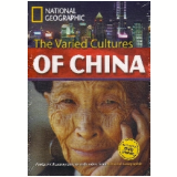 Footprint Reading Library - Level 8  3000 C1 - The Varied Cultures Of China - British English + Multirom - Rob Waring