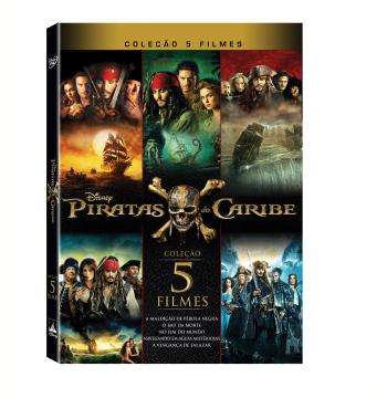 Coleção Piratas do Caribe (DVD)