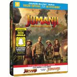 Coleção Jumanji + Jumanji - Bem-vindo à Selva - SteelBook (Blu-Ray) - Robin Williams, Dwayne Johnson, Jack Black