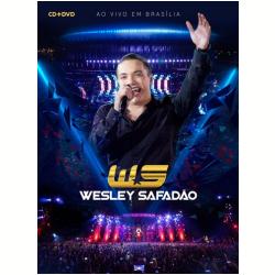 DVD - Wesley Safadão - Ao Vivo Em Brasília ( CD ) + - Wesley Safadão - 7891430162191