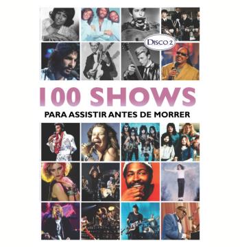 Box 100 Shows Para Assistir Antes de Morrer (DVD)
