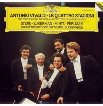 Antonio Vivaldi - Le Quattro Stagioni (CD)