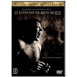 DVD - O Expresso da Meia - Noite - Edição do 30º Aniversário - ALAN PARKER ( Diretor ) - 7892770017707