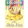 Disney Colorir Medio - A Bela E A Fera