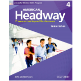 American Headway 4 Student Book With Oxford Online Skills Program - Third Edition -
