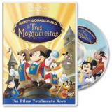 Mickey, Donald e Pateta em Os Três Mosqueteiros (DVD) -
