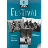 Festival 1 Cahier D´Exercices + CD Audio - Anne Vergne-sirieys