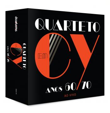 Box - Quarteto Em CY - Anos 60 / 70 - Ao Vivo (CD)
