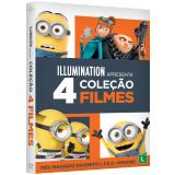 Coleção - Meu Malvado Favorito 1-3 + Minions (4 DVDs) - Vários (veja lista completa)
