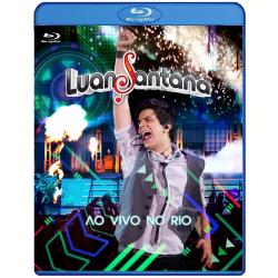Blu - Ray - Luan Santana - Ao Vivo no Rio - Luan Santana - 7891430001889