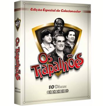 Os Trapalhões  (Vol. 1) - 10 Discos (DVD)