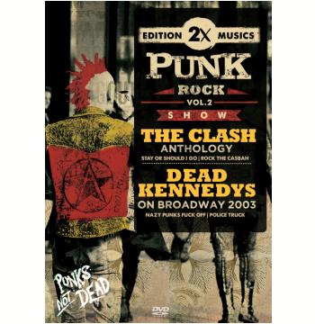 The Clash e Dead Kennedys 2003 (Vol. 2) (DVD)