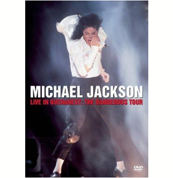Michael Jackson  - Live In Bucharest - The Dangerous Tour (DVD)