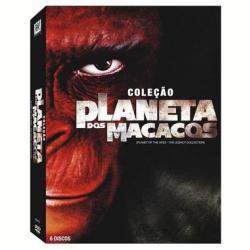 Cole��o Planeta dos Macacos (DVD)