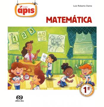Projeto Ápis - Matemática - 1º Ano  - Ensino Fundamental I