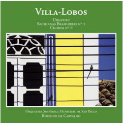 CDs - Orquestra Sinfonica Municipal De Sp - Villa - lobos - Orquestra Sinfonica Municipal De Sp - 7898469900985