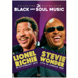 Lionel Richie 2015 e Stevie Wonder 1989 (DVD) - Lionel Richie E Stevie Wonder