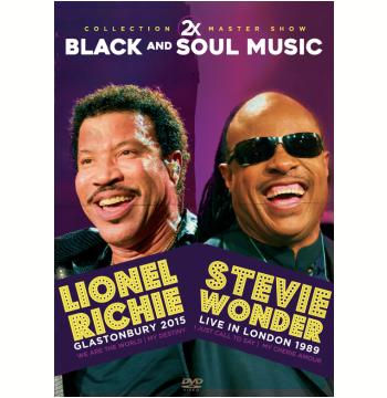 Lionel Richie 2015 e Stevie Wonder 1989 (DVD)