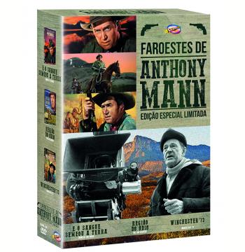 Coleção Faroestes de Anthony Mann (DVD)