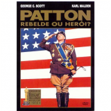 Patton - Rebelde Ou Herói? (DVD) - Karl Malden, George C. Scott