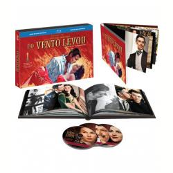 Blu - Ray - E O Vento Levou - Edição de Aniversário 70 Anos - Victor Fleming ( Diretor ) - 7892110072250