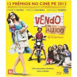 Blu - Ray - Vendo Ou Alugo - Marcos Palmeira - 7897119460053