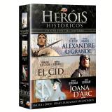 Box Heróis Históricos (DVD) - Richard Burton