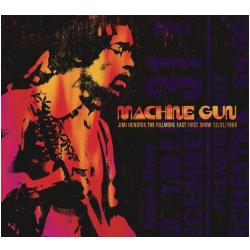 CDs - Jimi Hendrix - Machine Gun Jimi Hendrix The Fillmore East 12 / 31 / 1969 ( first Show ) - Digipack - Jimi Hendrix - 889853541621