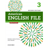 American English File 3 Student Book With Online Skills - Second Edition -