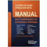 Manual das Companhias ou Sociedades Anônimas - Alfredo De Assis Gonçalves