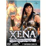 Xena A Princesa Guerreira- 6 Discos (DVD) - Lucy Lawless, Renee O'connor