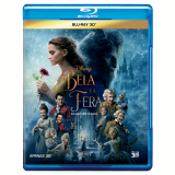 A Bela e a Fera 3D (2017) (Blu-Ray) - Emma Thompson, Ewan McGregor