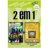 Disco Fever 70 + Live TV Special Disco (DVD) - Vários