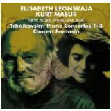 Elisabeth Leonskaja - Tchaikovsky: Piano Concertos Nos 1 - 3 - Concert Fantasia (CD) - Elisabeth Leonskaja