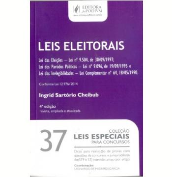 Leis Eleitorais (Vol.37)