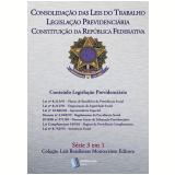 CLT, Legislação Previdenciaria, Constituição da República Federativa: Série 3 em 1 Montecristo Editora (Ebook) - Alexandre Pires Vieira