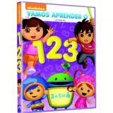 Vamos Aprender o 1, 2, 3 (DVD) -