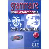 Grammaire Pour Adolescents - 250 Exercices - Niveau Debutant (livre + Corriges) - Nathalie Bie