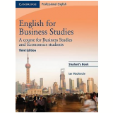 English For Business Studies Student's Book A Course For Business Studies And Economics Studen - Ian Mackenzie