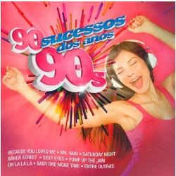 CDs - 90 Sucessos Dos Anos 90 - 7899340730523