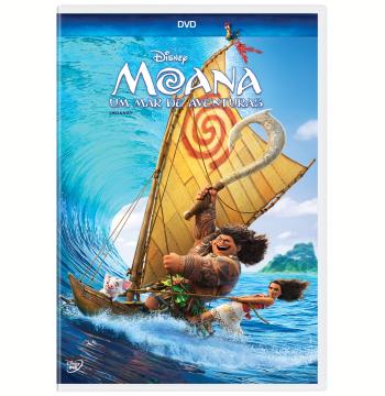 Moana - Um Mar de Aventuras (DVD)