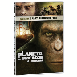 DVD - Planeta dos Macacos - 1968 + Planeta dos Macacos - A Origem - Vários ( veja lista completa ) - 7898512978442